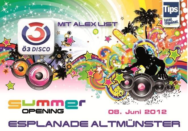 Mit salzi zum Ö3-Summer-Opening Party mit Alex List in Altmünster