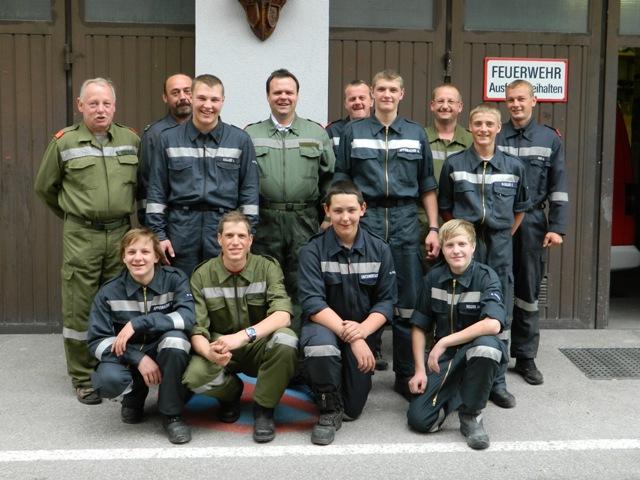 St. Wolfgang: Florianis absolvieren Truppführer Lehrgang mit Bravour