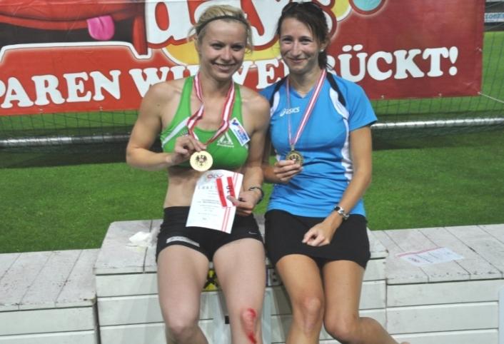 Stefanie Huber gewinnt bei Staatsmeisterschaft Gold