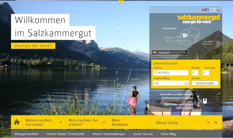 Salzkammergut präsentiert sich neu auf salzkammergut.at – kompletter Relaunch des Internetauftrittes