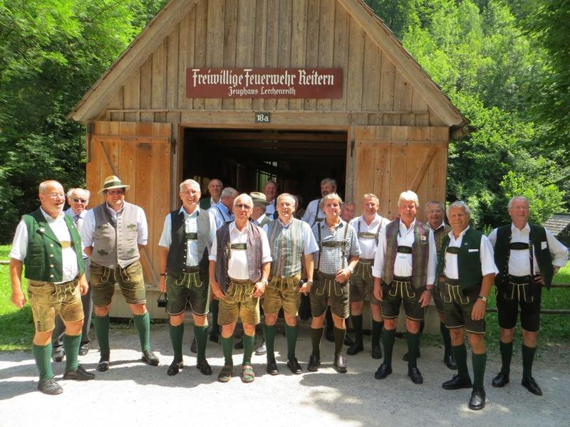 Männer Gesangsverein Bad Aussee Zu Gast In Graz Salziat