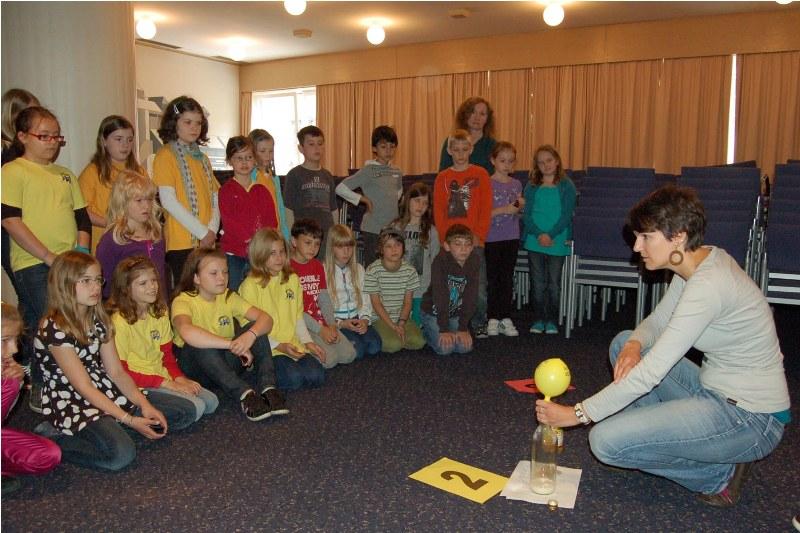 Vöcklabruck: erster Kinderenergieaktionstag war ein voller Erfolg