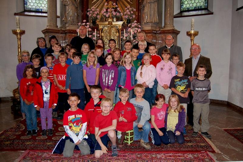 Erstkommunionkinder wallfahrten nach Lauffen
