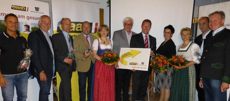 ÖAAB und Wirtschaftsbund Salzkammergut setzten Zeichen für Gesundheitspartnerschaft im Betrieb