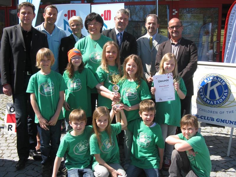 25 Jahre Pinguin-Cup des Jugendrotkreuzes im Bezirk Gmunden