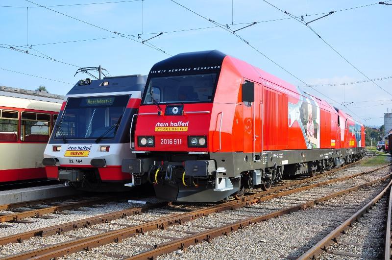 Rail Cargo Austria und Stern & Hafferl kooperieren im Güterverkehr auf der Salzkammergutbahn