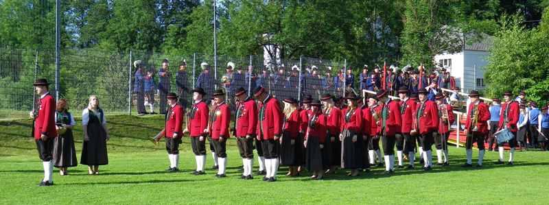 Ottnang: Feuerprobe mit Auszeichnung für den MV-Bruckmühl