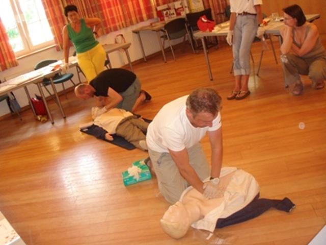 16-Stündiger Erste-Hilfe Kurs beim Roten Kreuz Gmunden