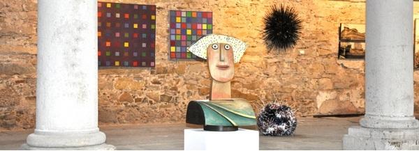 """Ausstellung """"Kunst in der Halle"""" in der HIPP-Halle in Gmunden"""