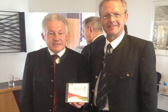 """Jubiläums CD 500 Jahre Timelkam -""""klingt guat"""""""