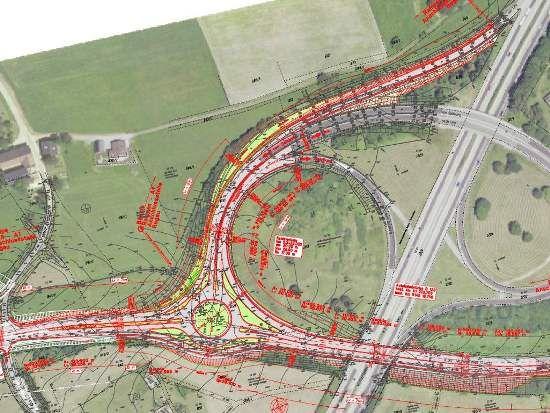Autobahnauffahrt Regau und B145 im Bereich der Autobahnauffahrt gesperrt