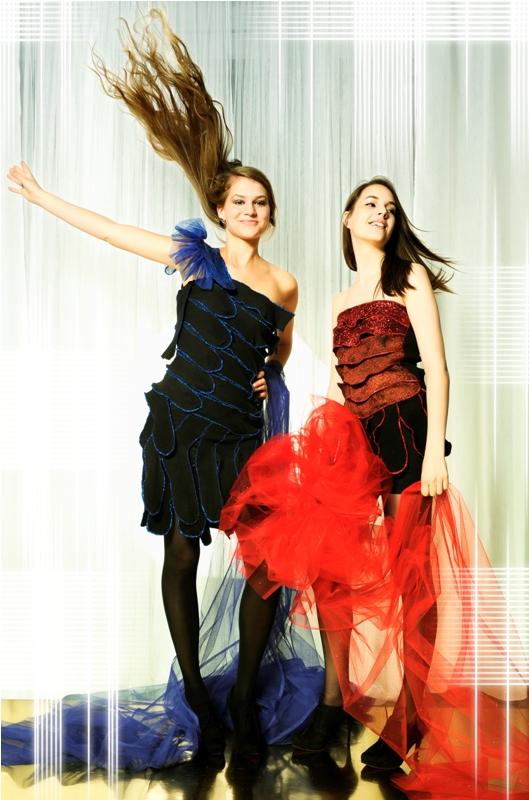 """wir geben stoff"" - Modeschau der Modeschule Ebensee"