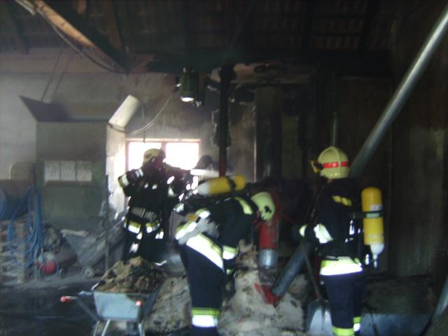 Laakirchen: Brand in Futtermischanlage im Entstehungsstadium entdeckt