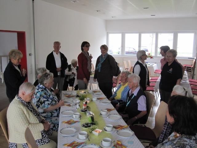 Fünf Jahre Besuchsdienst - Fest im neuen RK-Gebäude