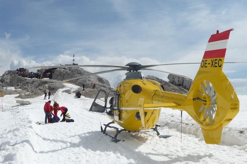 Polnische Bergsteigerin am Dachstein abgestürzt