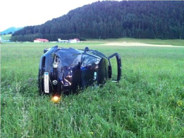 Scharnstein: Schwangere bei Unfall verletzt