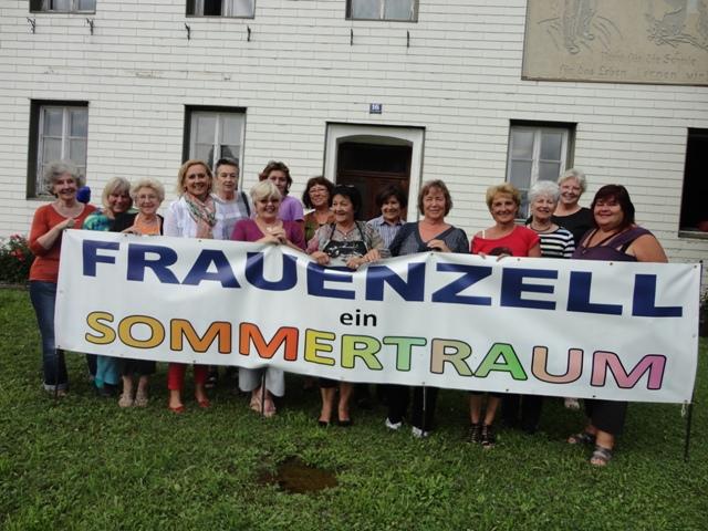 """5. Künstlerinnen-Symposium in Zell am Pettenfirst: """"Frauenzell - ein Sommertraum"""""""