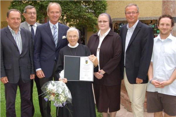 Ehrenring für Schwester Kunigunde