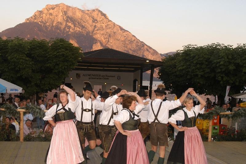 Da Traunstoa leucht - großes Seefest in Altmünster