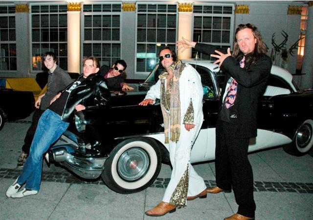 Kleinstes Elvis Presley Festival der Welt in der Trinkhalle Bad Ischl