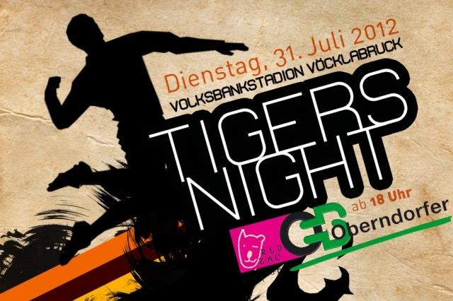 Tigers vs. Brasilien - Faustball-Abendturnier im Stadion Vöcklabruck