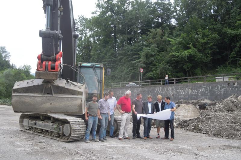 Baubeginn für neuen Bad Ischler Wirtschaftshof