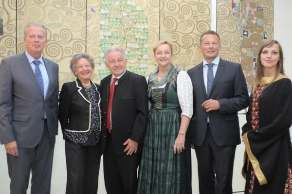 Minister Fekter, Mitterlehner und Stöger würdigen neues Gustav Klimt-Zentrum