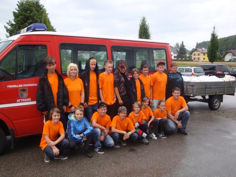 Puchheimer Feuerwehrjugend erlebt vier Tage lang Lagerleben in Taufkirchen