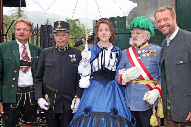 Kaiserzug 2012 fährt wieder von Attnang Puchheim nach Bad Ischl
