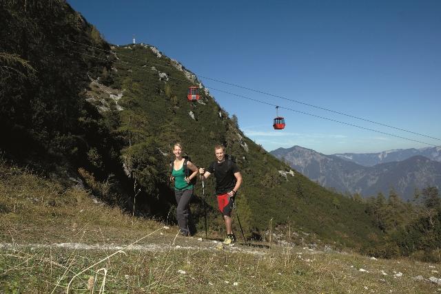 7-Seenblick-Wanderung lenkt die Katrin Seilbahn-Gondeln auf Erfolgskurs