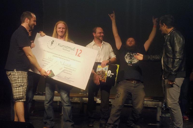 Kunstmue Festival 2012 - elfte Band hinzugefügt, Line-up endgültig komplett