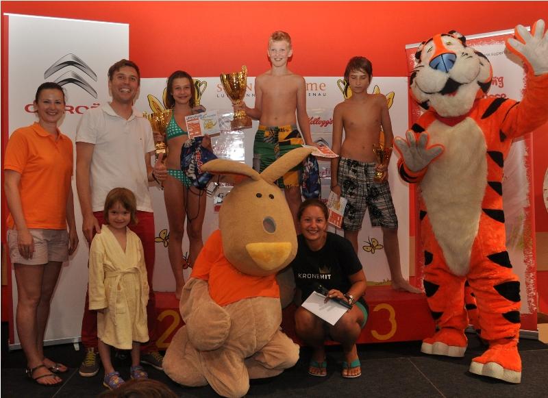 Gschwandt: Michael Beißkammer (12) gewinnt mit Tagesbestzeit 8. Speed Contest 2012