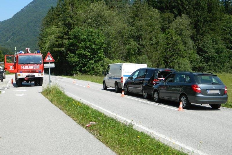 St. Wolfgang: Serienunfall im Ortsteil Schwarzenbach