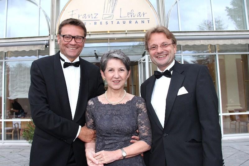 """Nationalratspräsidentin Barbara Prammer bei Premiere von """"Zigeunerliebe"""""""