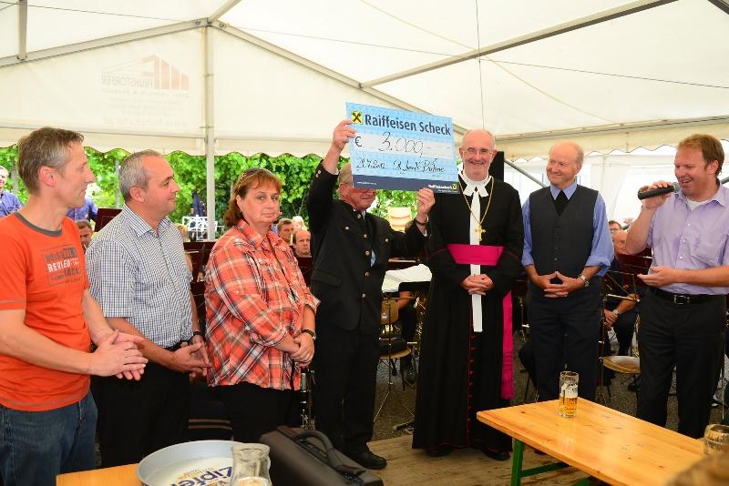 St. Josefs-Bühne unterstützte Restaurierung der St. Anna Kirche mit € 23.000,-!