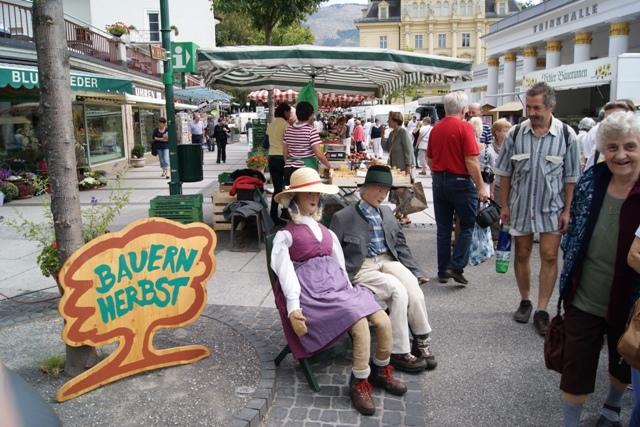 Bauernherbst Eröffnung in Bad Ischl