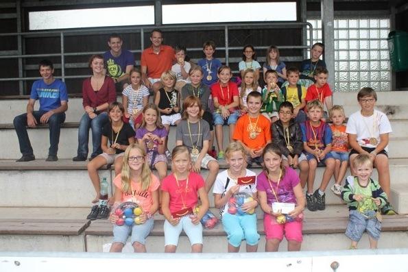 Unterhaltsame Kinderolympiade in Vorchdorf