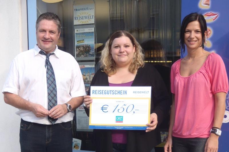 Bei 10. Viva l'Italia in Schwanenstadt Reise nach Italien gewonnen