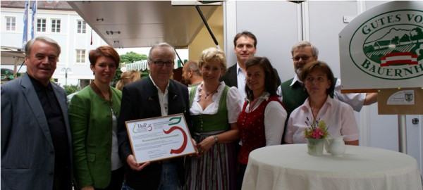 Bauernmarkt Schwanenstadt wird Mitglied im Verein Zusammenarbeit bäuerlicher Direktvermarkter