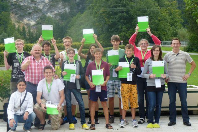 1. WIFI-Sommercamp in Grünau ein voller Erfolg