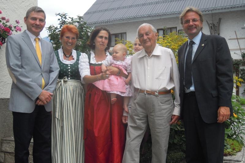Bad Ischl: Kurmusiker Karl Reinelt ist 100! | Foto: Gemeinde