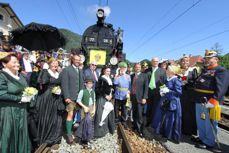 Kaiserzug 2012 - Sisi & Franz am Weg nach Bad Ischl!   Foto: Hörmandinger