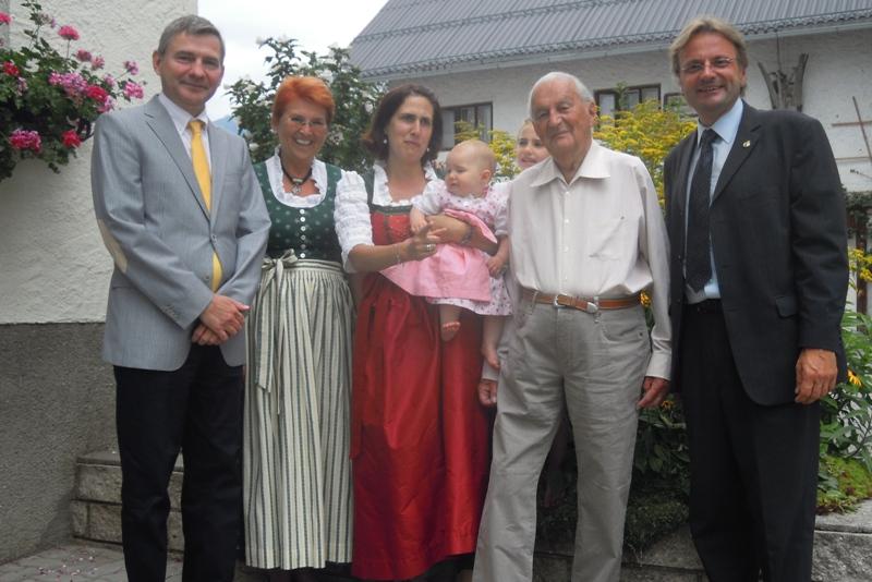 Bad Ischl ältester Kurmusiker Karl Reinelt ist 100!