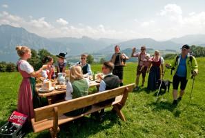 Die Traunsee Hüttenwirte laden zum Traunseehütten-Wanderherbst