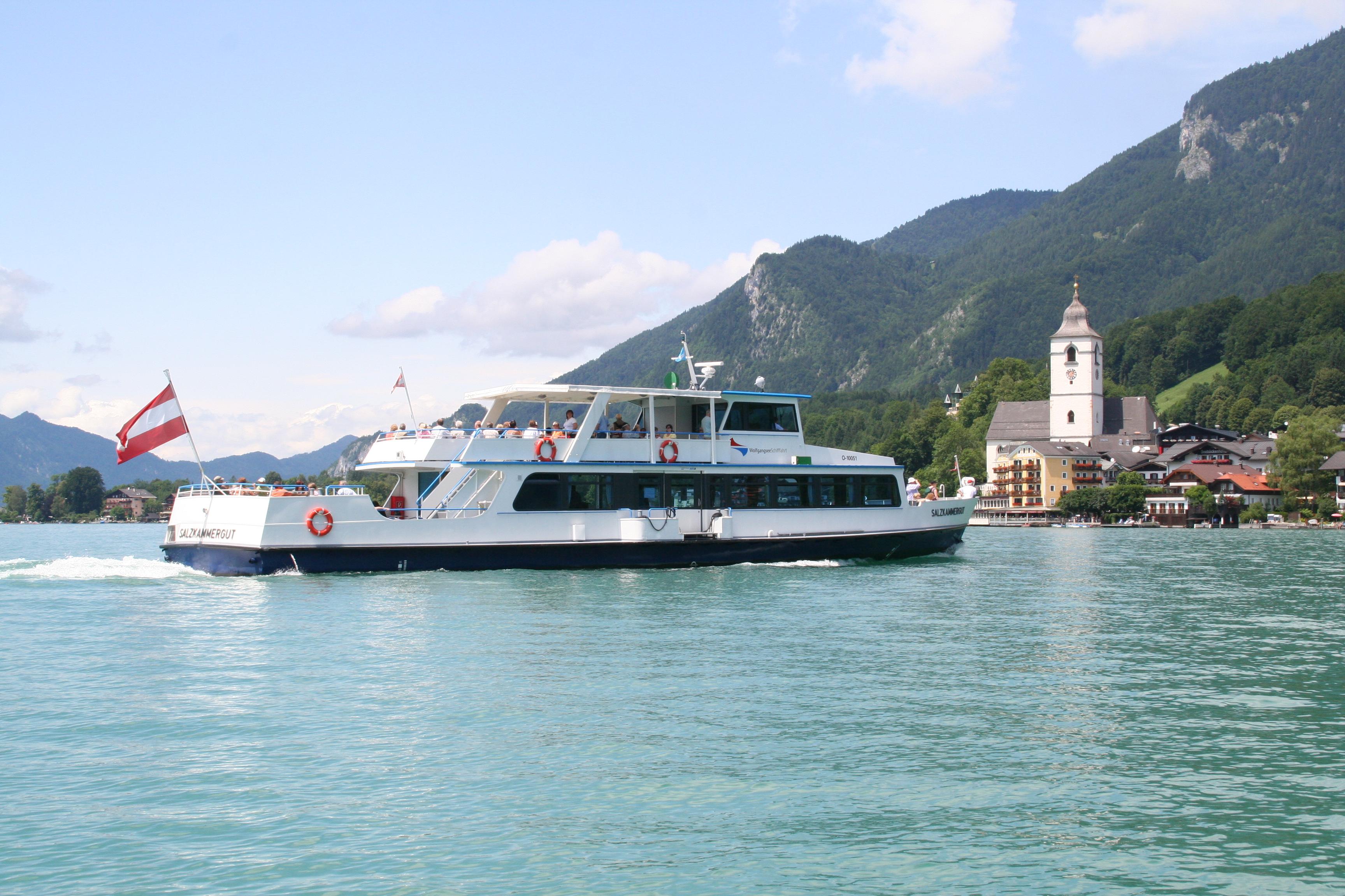 Wolfgangsee: Linienschiff MS Salzkammergut prallte gegen Steganlage | Foto: Schafbergbahn/Wolfgangsee Tourismus