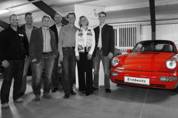 Betriebsbesichtigung der JW Almtal im Autohaus Graef