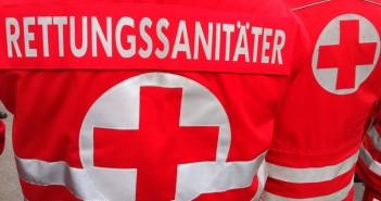 Rettungssanitaeter Sanitäter im Einsatz