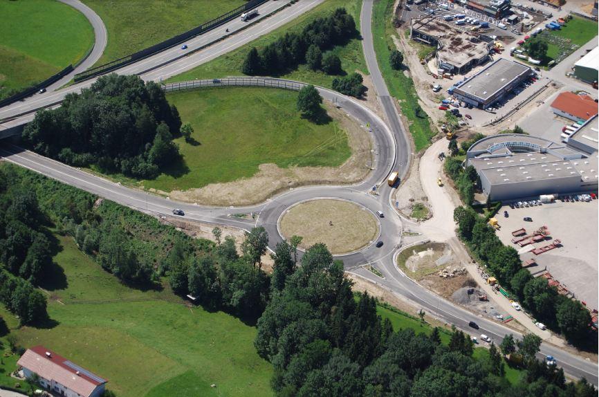 Kreisverkehr an der A1 Anschlussstelle Mondsee eröffnet | Foto: Land OÖ