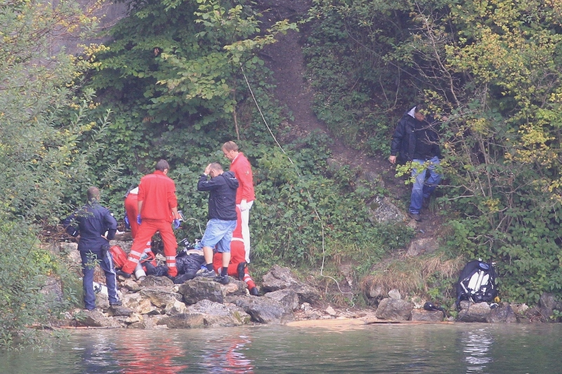 Tödlicher Tauchunfall am Traunsee