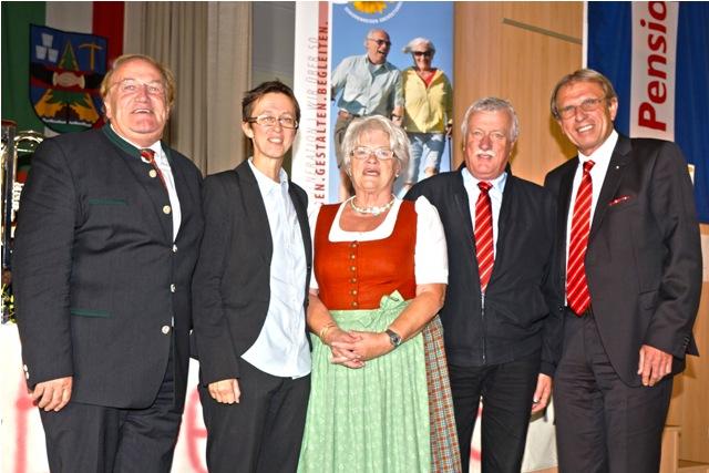 Pensionistenverband Ebensee feiert 60 Jahre Bestandsjubiläum